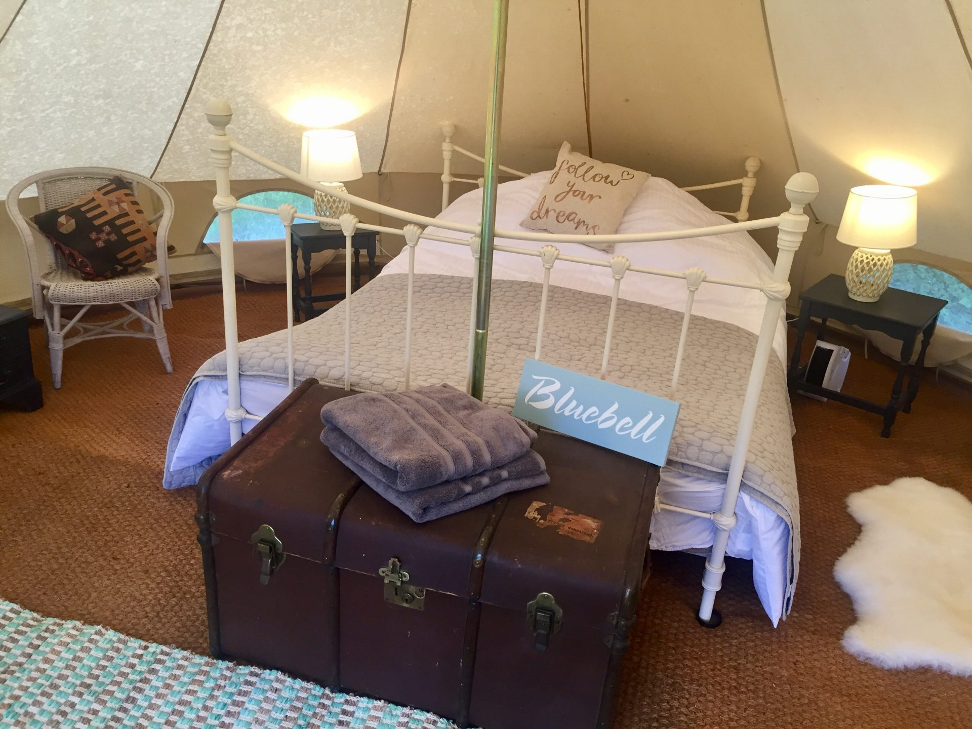 We Now Offer Luxury GLAMPING - Preston Court Weddings & Events
