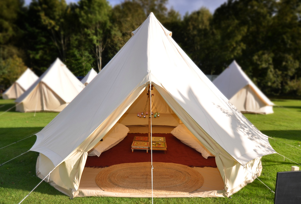 Bell Tents & Preston Court Weddings u0026 Events | Glamping At Preston Court